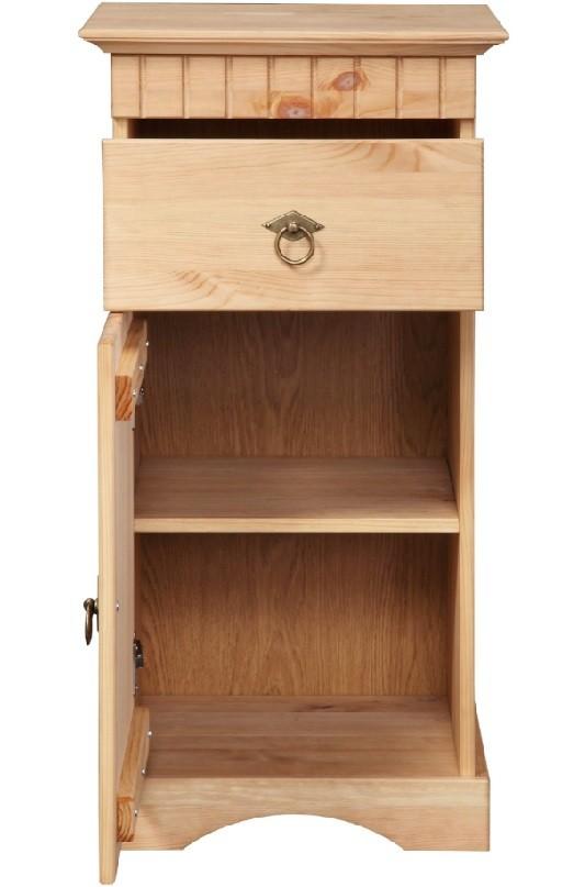 4 tlg badm bel set aus kiefernholz gelaugt ge lt. Black Bedroom Furniture Sets. Home Design Ideas