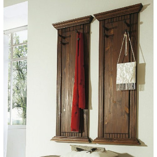 massive wandgarderobe aus kiefernholz 2er set. Black Bedroom Furniture Sets. Home Design Ideas