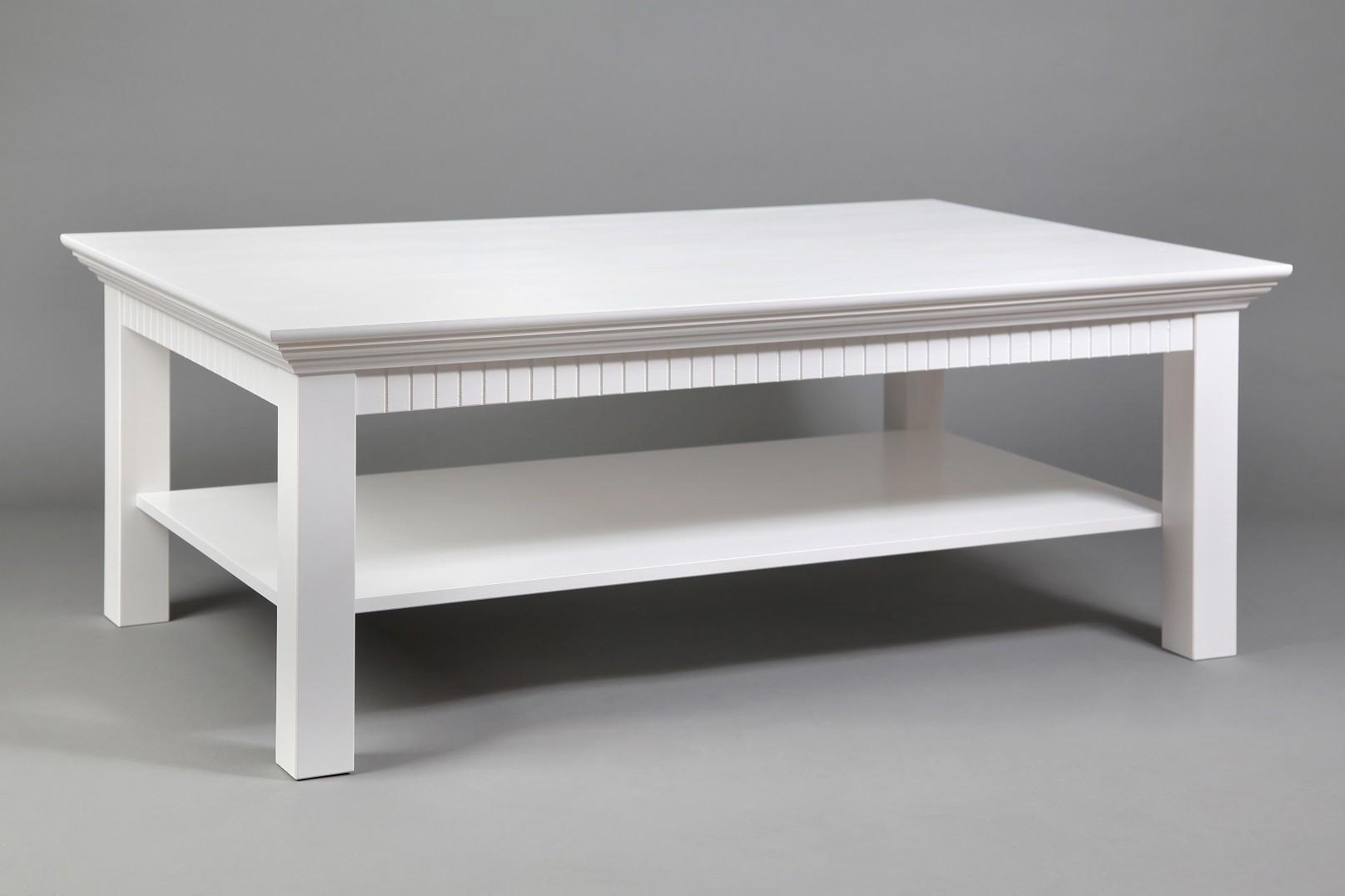 Couchtisch weiß 120x76cm