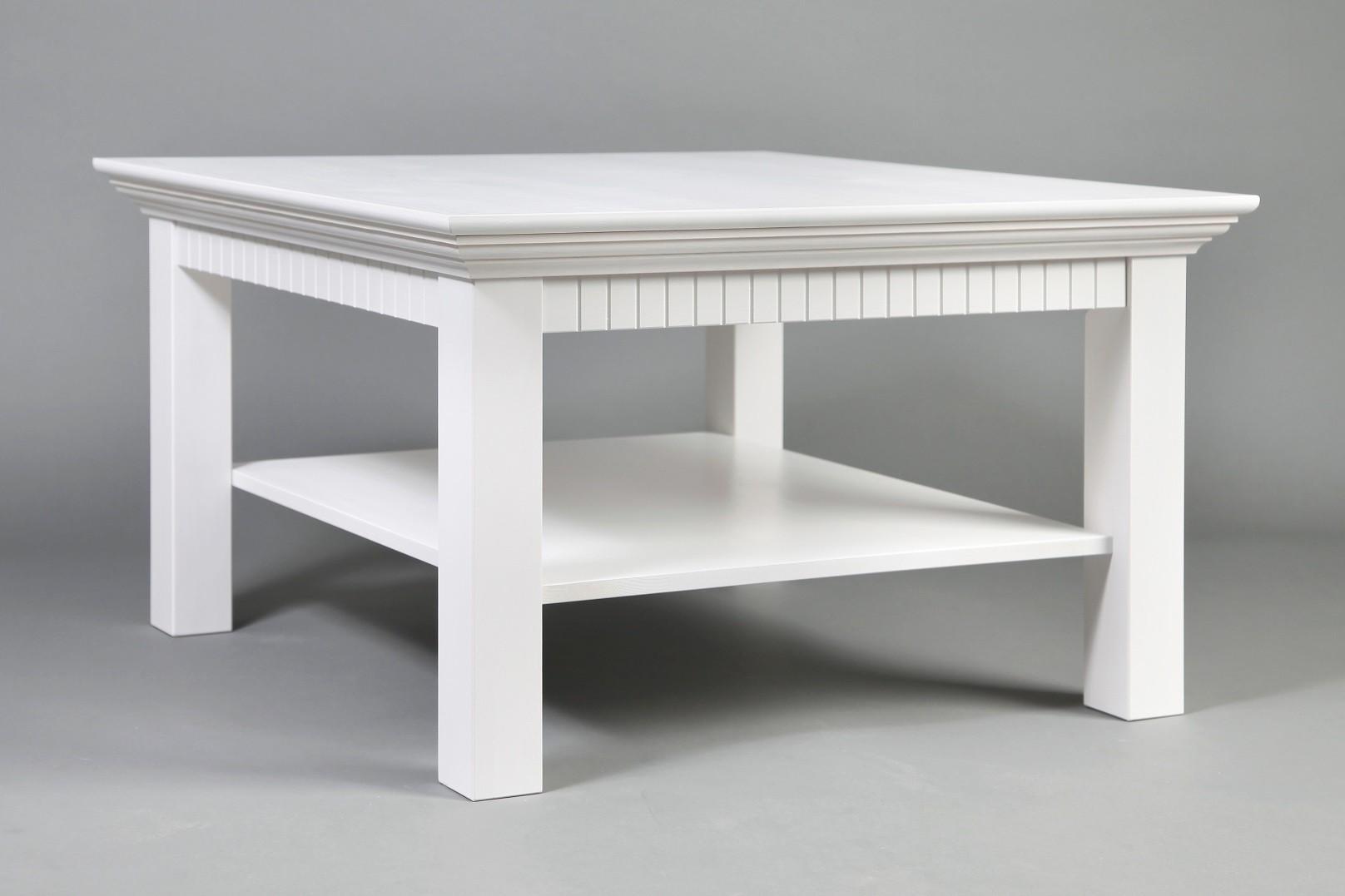 Couchtisch weiß 76x76cm