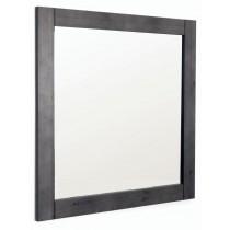 Spiegel grau lackiert