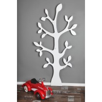 Wandgarderobe »Baum«  weiß Höhe 170 cm.